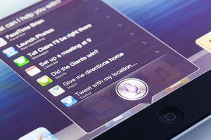 Siri app on ipad with OS 6