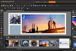 Paintshop Pro X9 screenshot