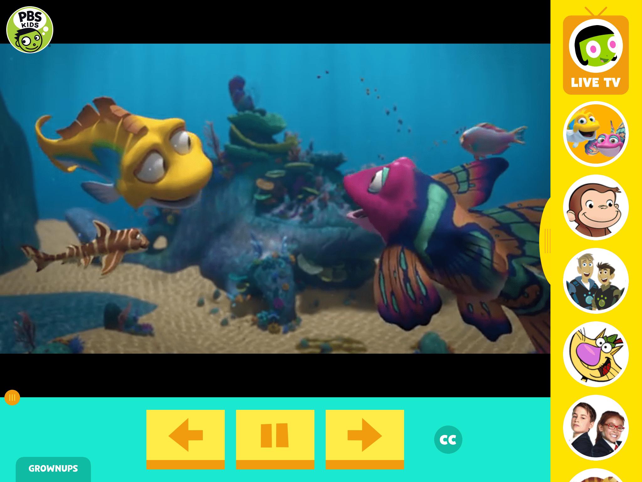 PBS Kids screen