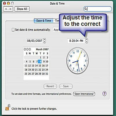 How to Manually Change the Date and Time on a Mac