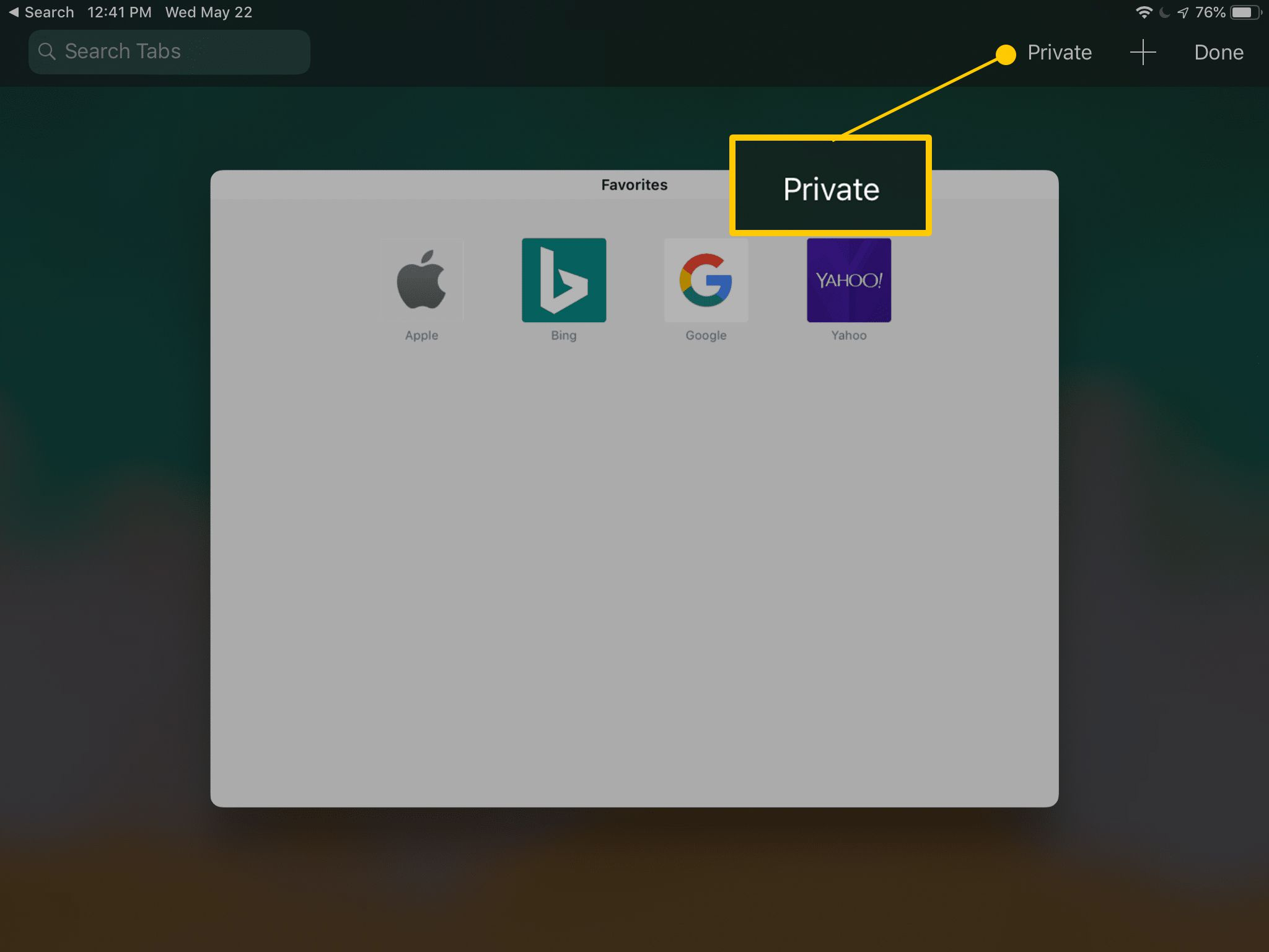 How to Turn on Private Browsing on Your iPad