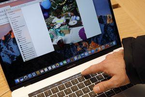 A MacBook Pro with TouchBar