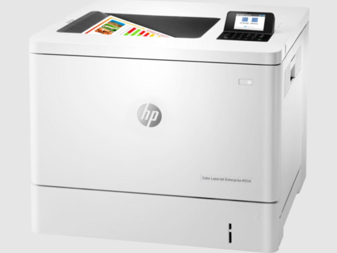 Color LaserJet Enterprise M554dn Printer