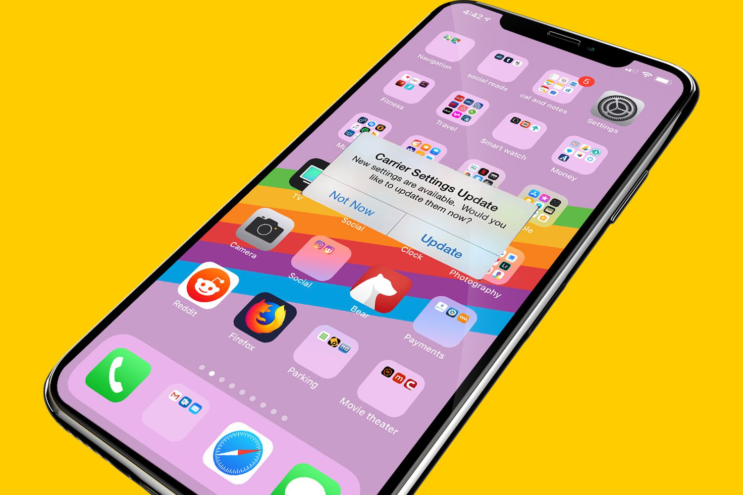 Update your carrier settings on your iPhone or iPad