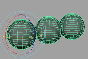 Grouping Objects in Maya