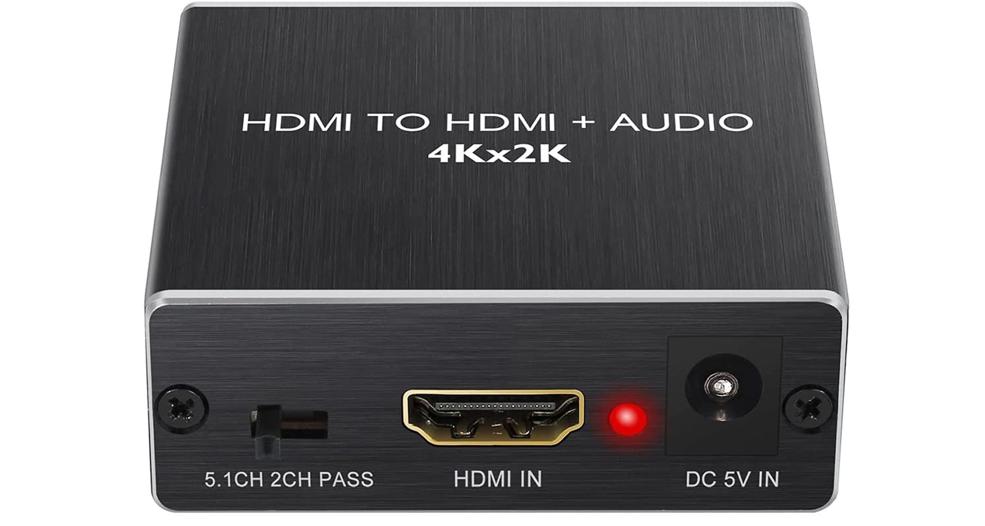 An HDMI Audio Extractor.
