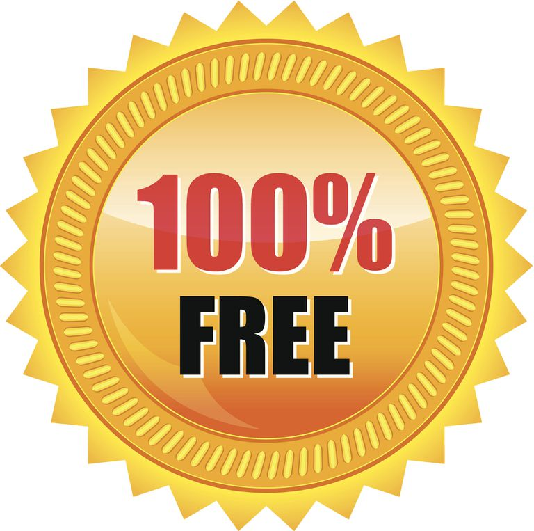100% free gold seal sticker