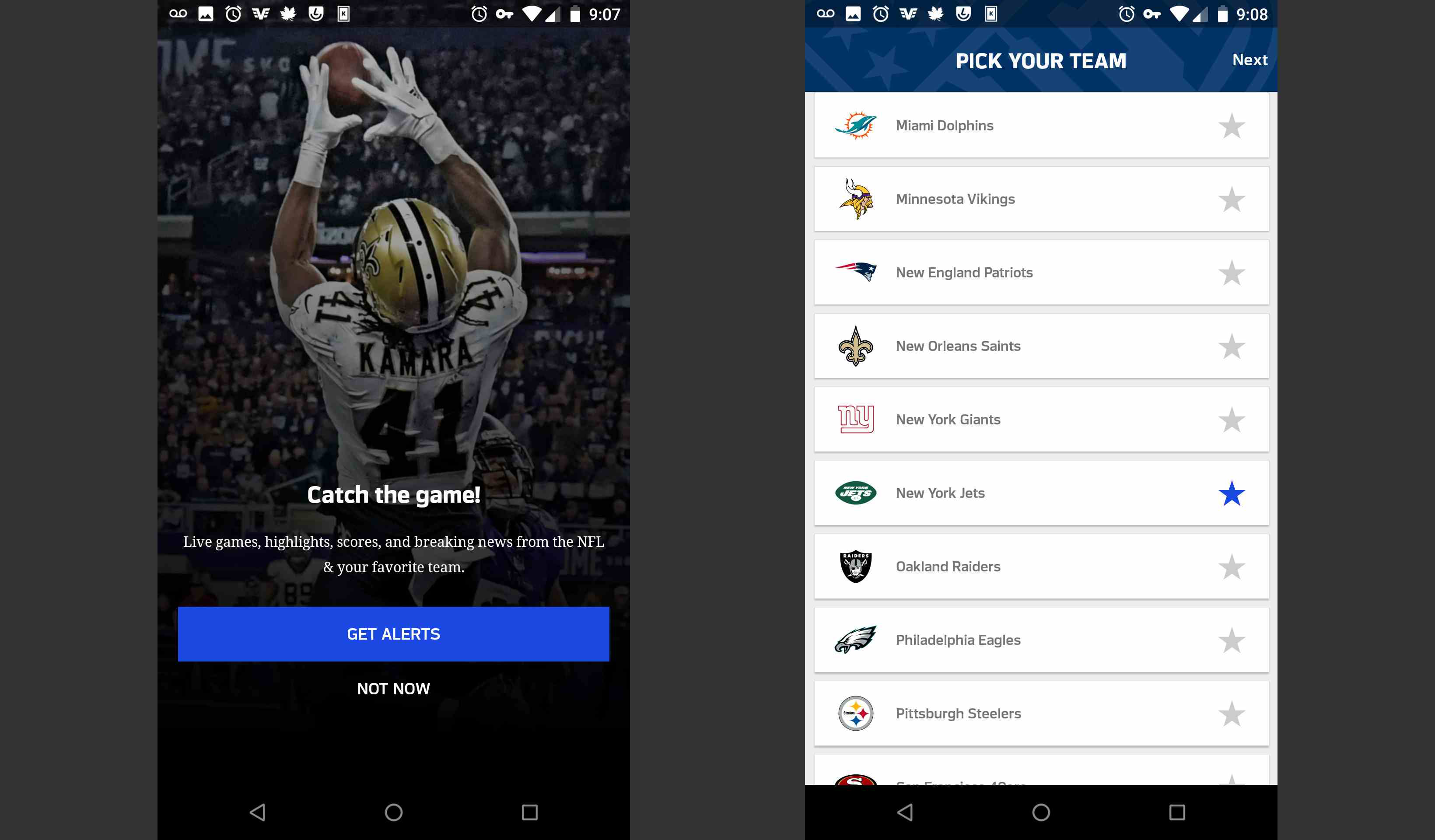 How to Use the NFL Mobile App