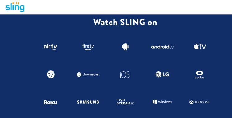 sling supported devices
