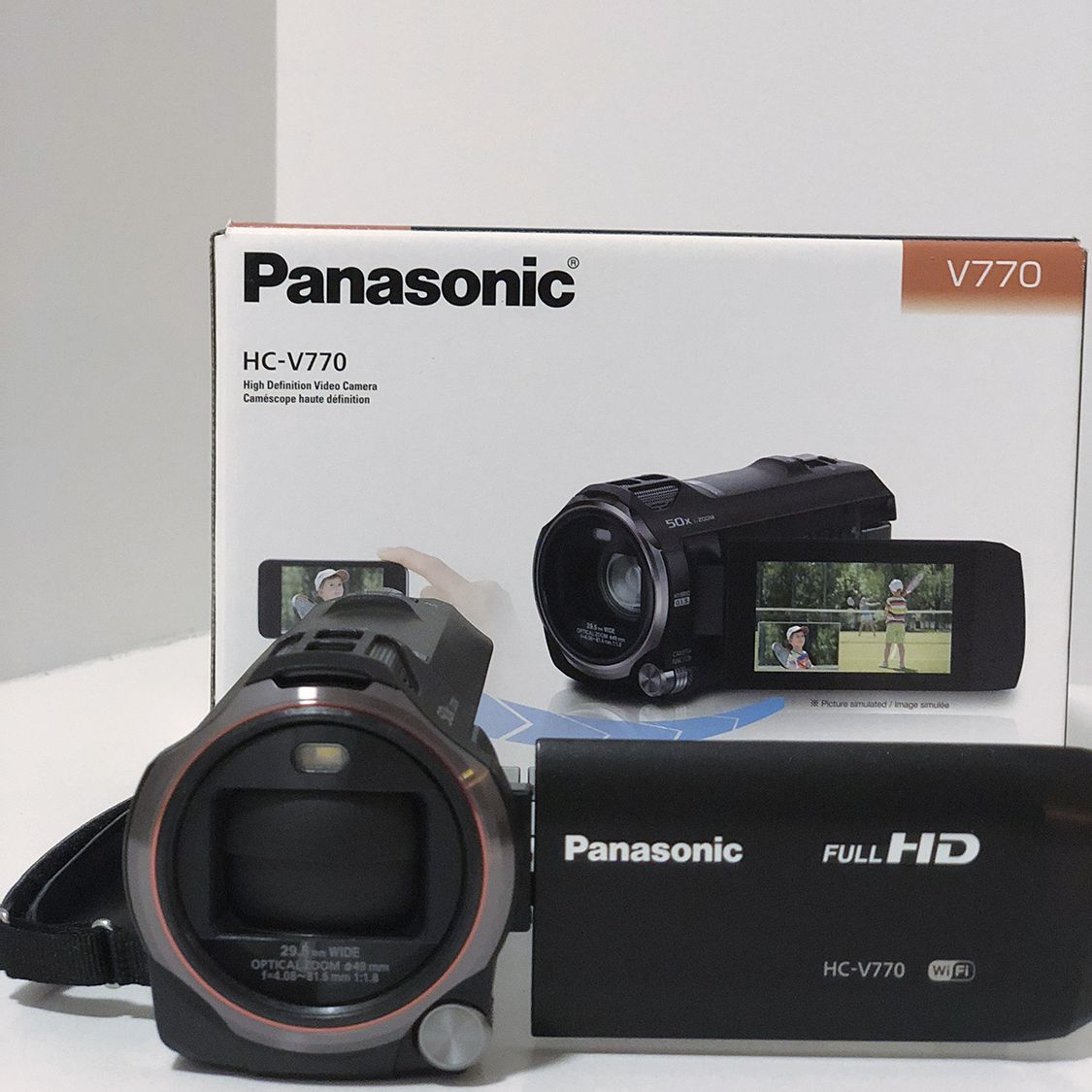 Lifewire testers thought the Panasonic HC-V770 HD Camcorder was a solid  purchase for anyone looking for a reliable video camera.