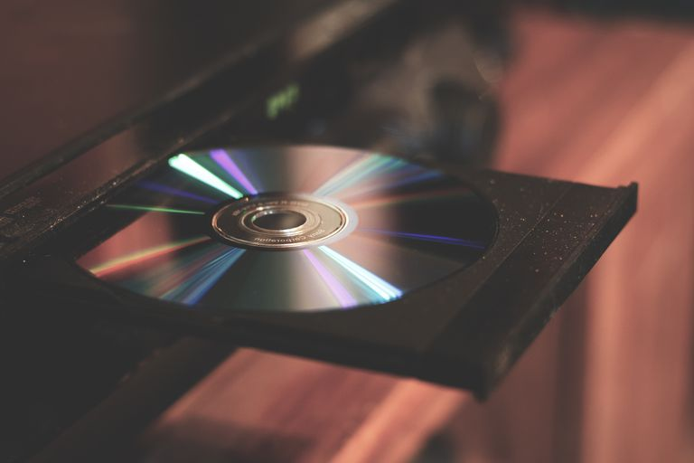 Close-Up Of Cd Player At Home