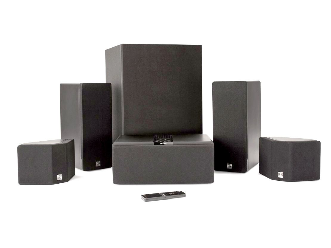 Enclave Audio CineHome 5.1 Wire-Free Home Theater System Package