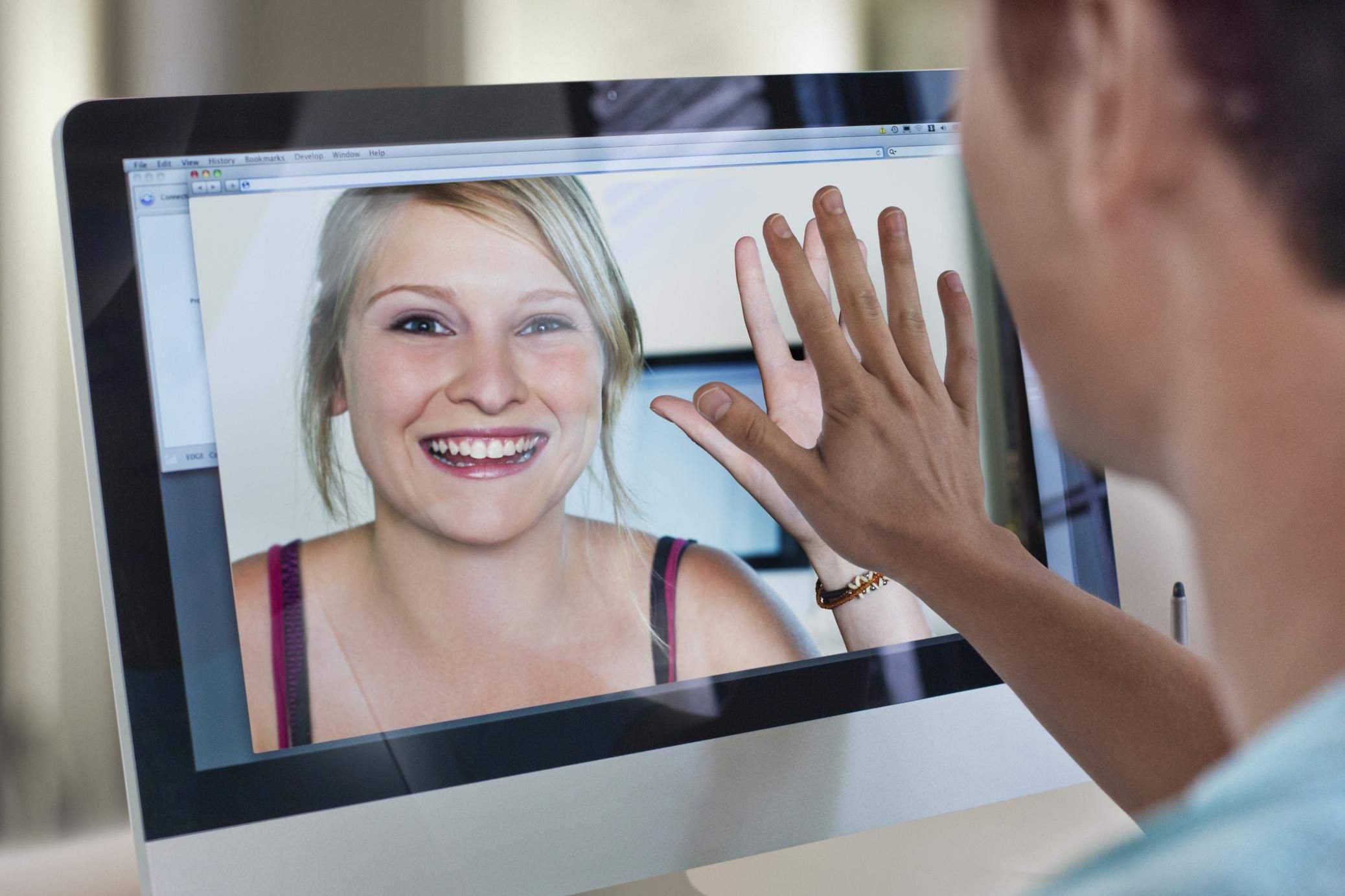 Human interaction through video conferencing