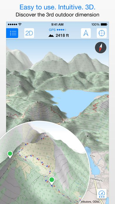 Review: Maps 3D Pro App for Offline Use
