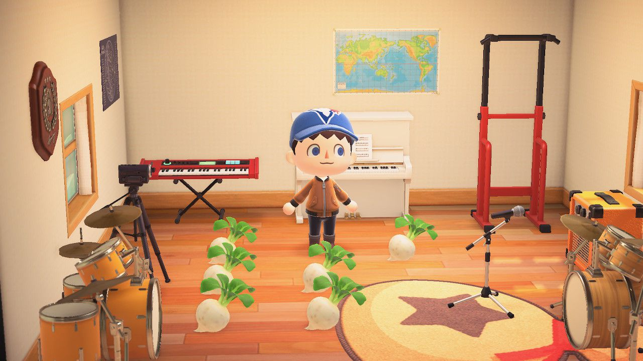 Storing turnips in home in Animal Crossing: New Horizons