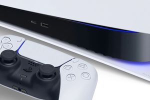 PlayStation 5 console and DualSense controller