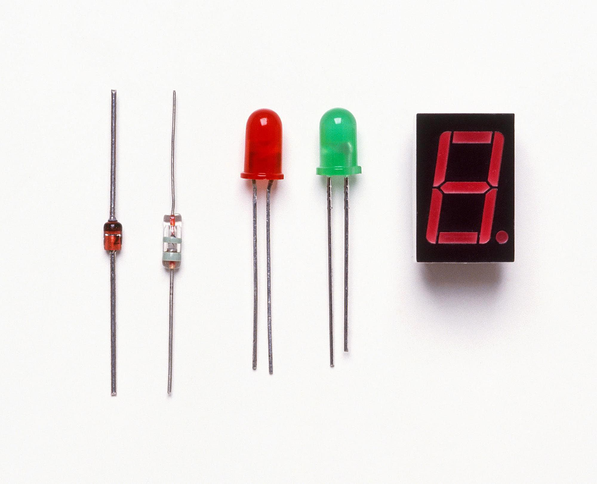 Collection of diodes