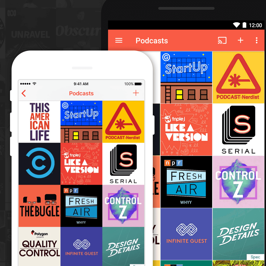 Pocket Cast for iPhone Podcast player