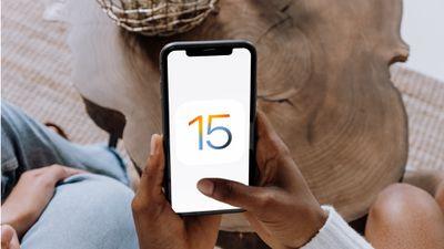 iOS 15 on iPhone