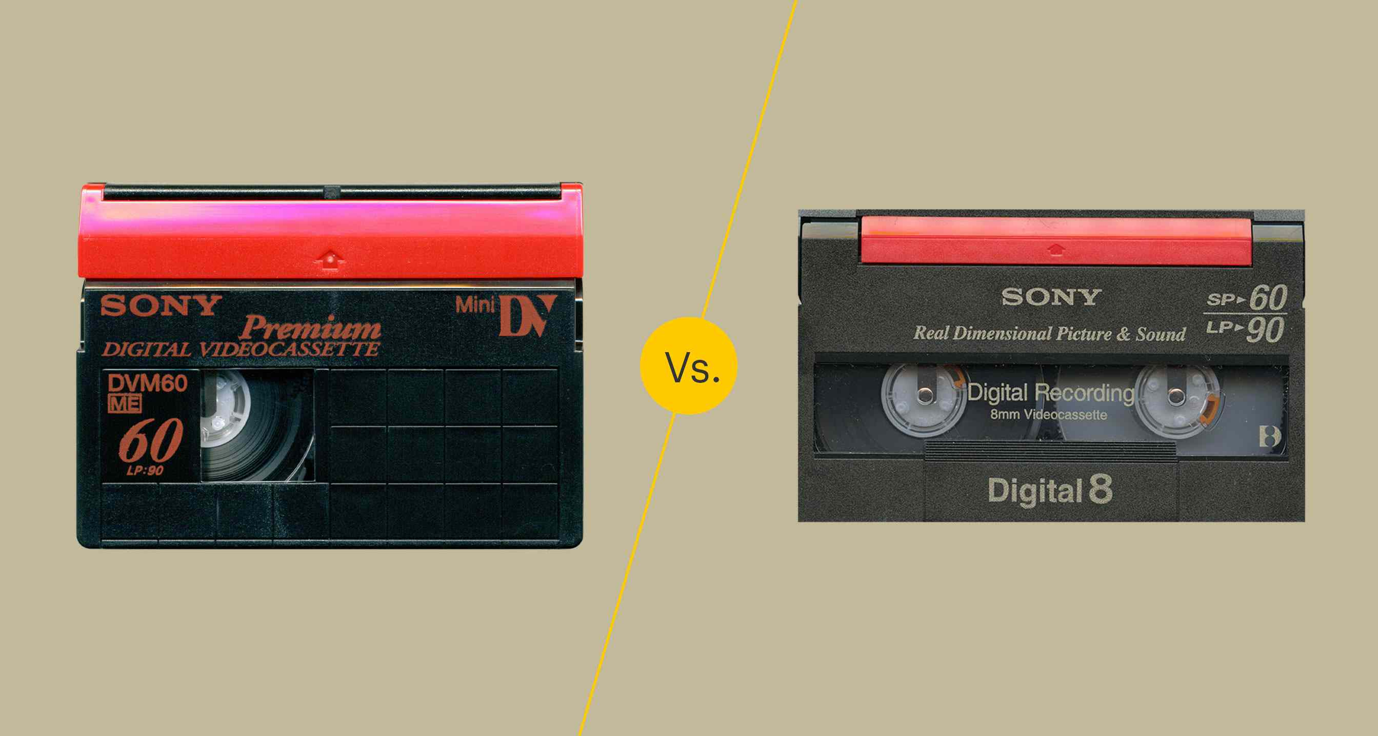 Minidv Vs Digital8 Format Comparison And Transfer Tips