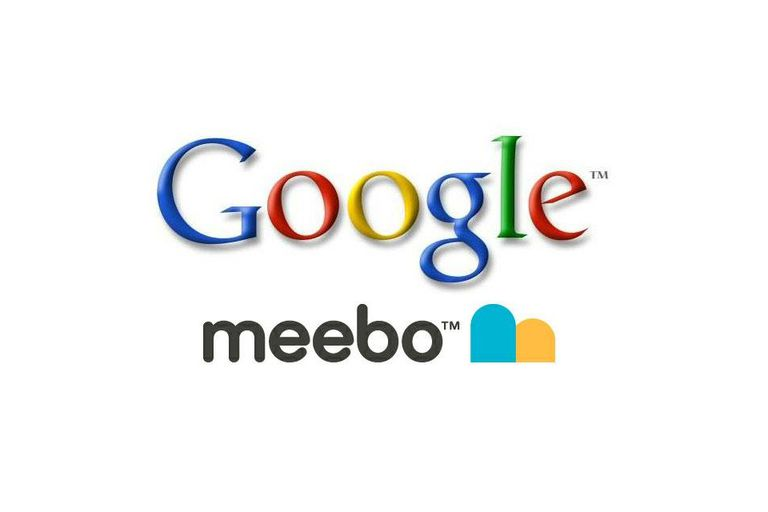 Meebo and Google logos
