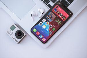 iphone with widgets