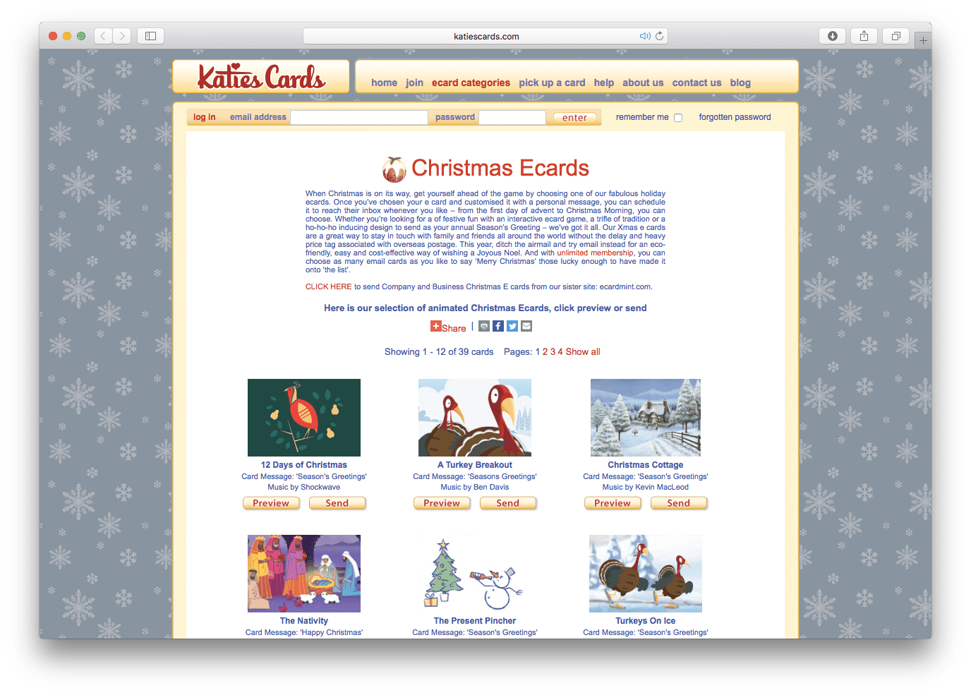 The best christmas e card sites katies cards christmas ecards m4hsunfo