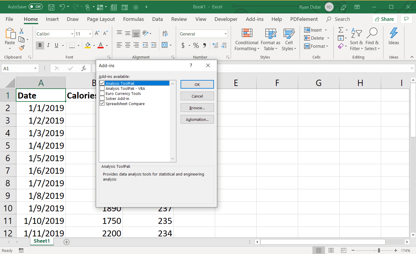 How to Run Regression In Excel
