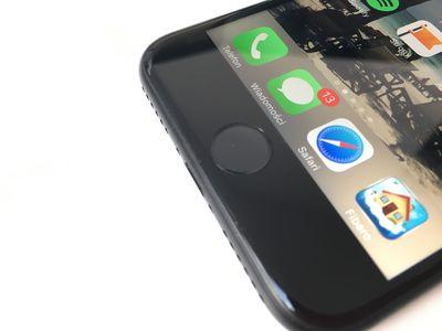 Safari logo on iPhone