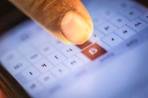 Finger Using Mobile Phone