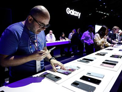 Samsung Unveils New Products At Its Annual Unpacked Event.