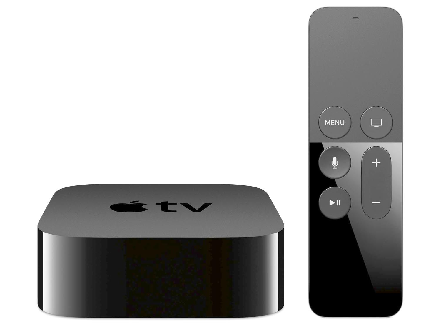 Apple TV and the Siri remote