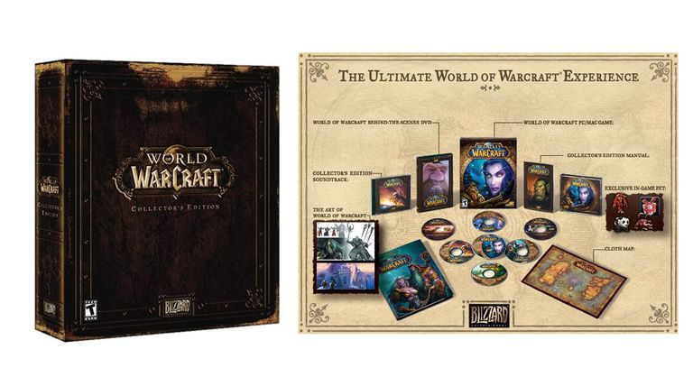 World of Warcraft Collector's Edition Box & Contents