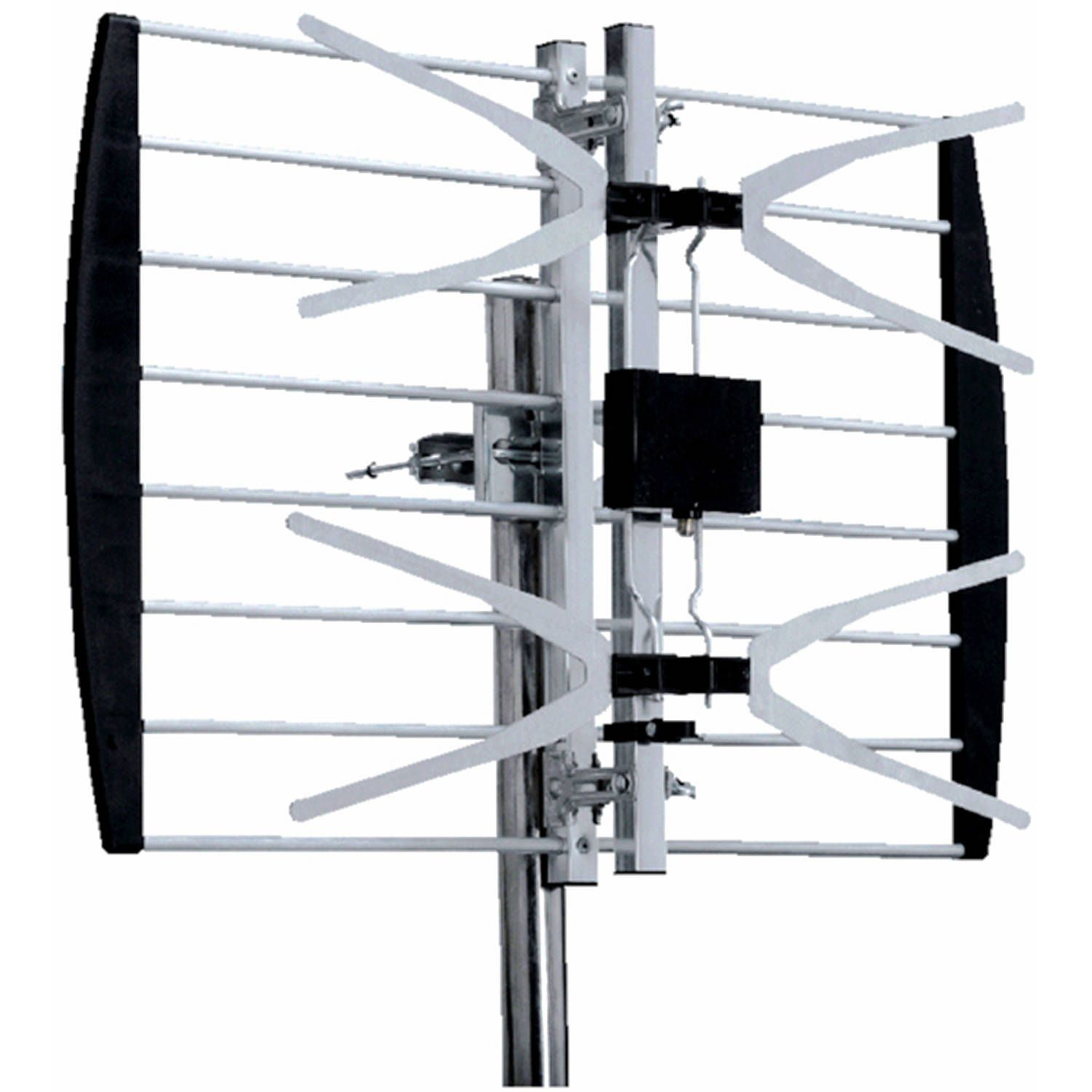 The 8 Best Walmart Tv Antennas Of 2019 Aerials Satellite Digital Wide Band Aerial Plus Wiring Biggest Range For Price Digiwave Panel Uhf Antenna Ant2088