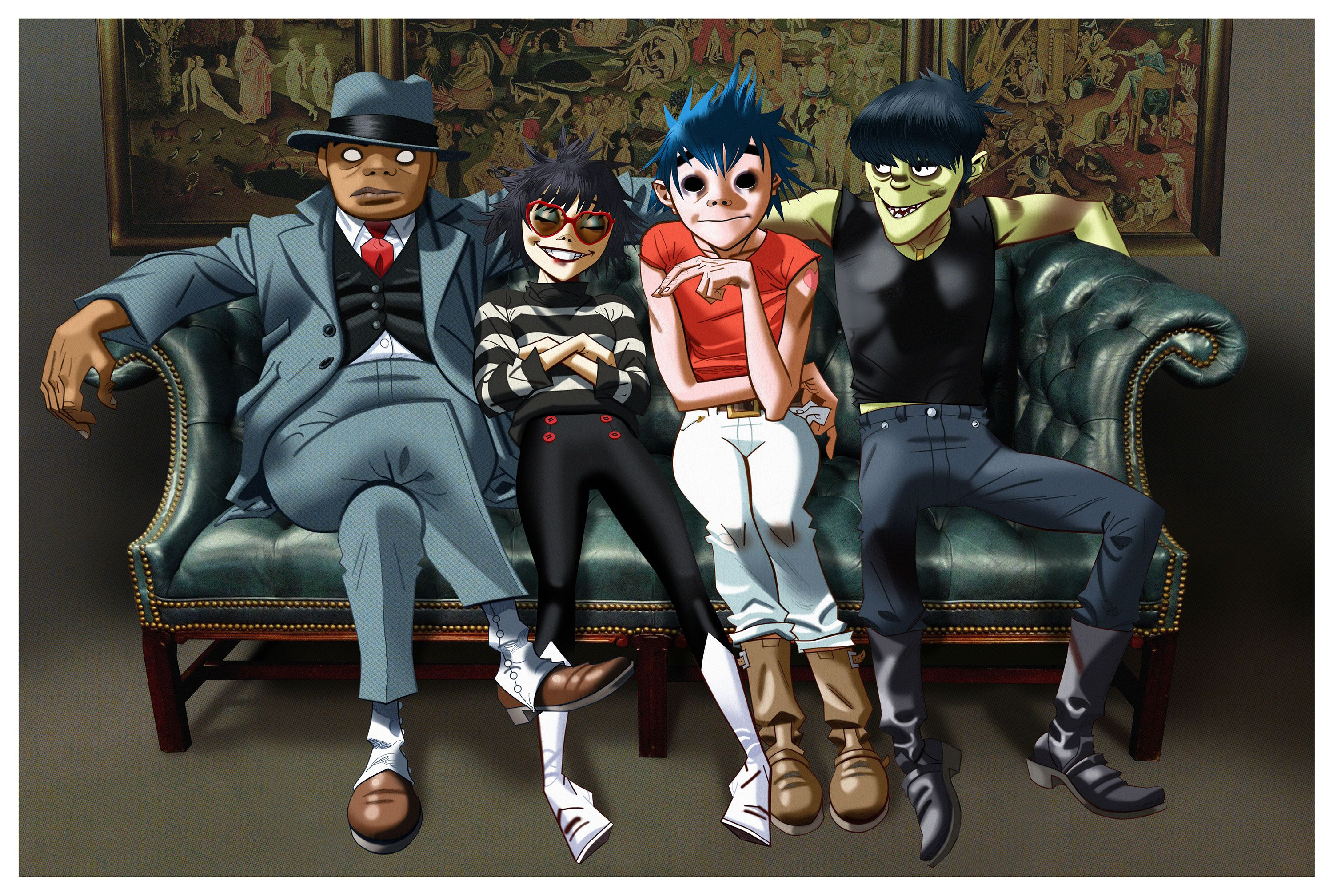 Gorillaz in Your House