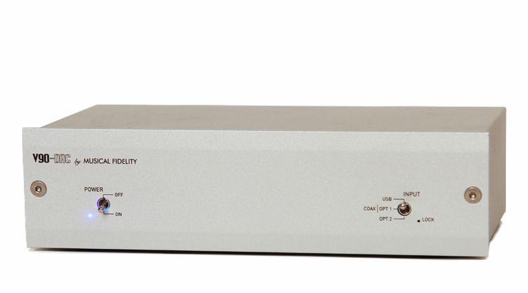 Musical Fidelity V90-DAC front