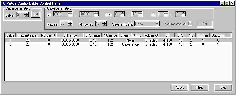 virtual audio cable windows 10