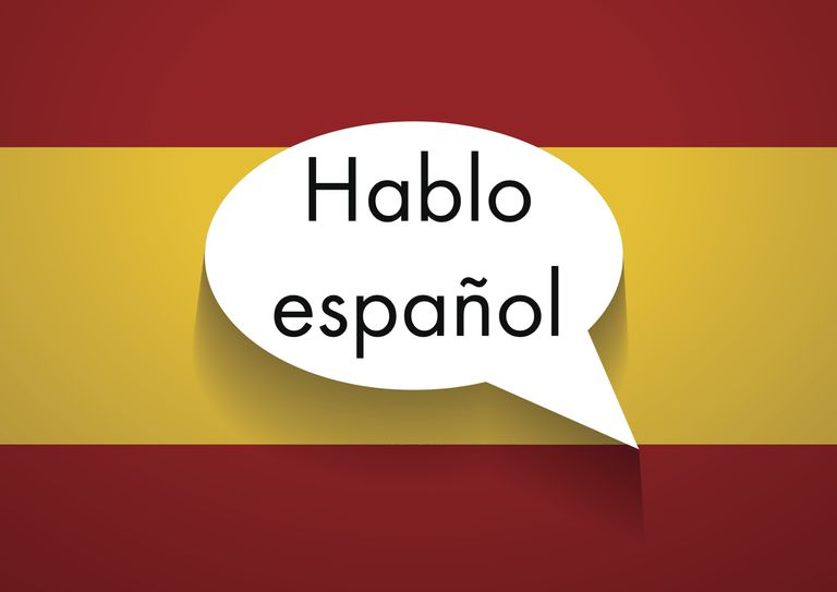 Vector Sign Speaking Spanish