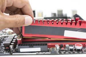 Checking RAM and motherboard compatibility.