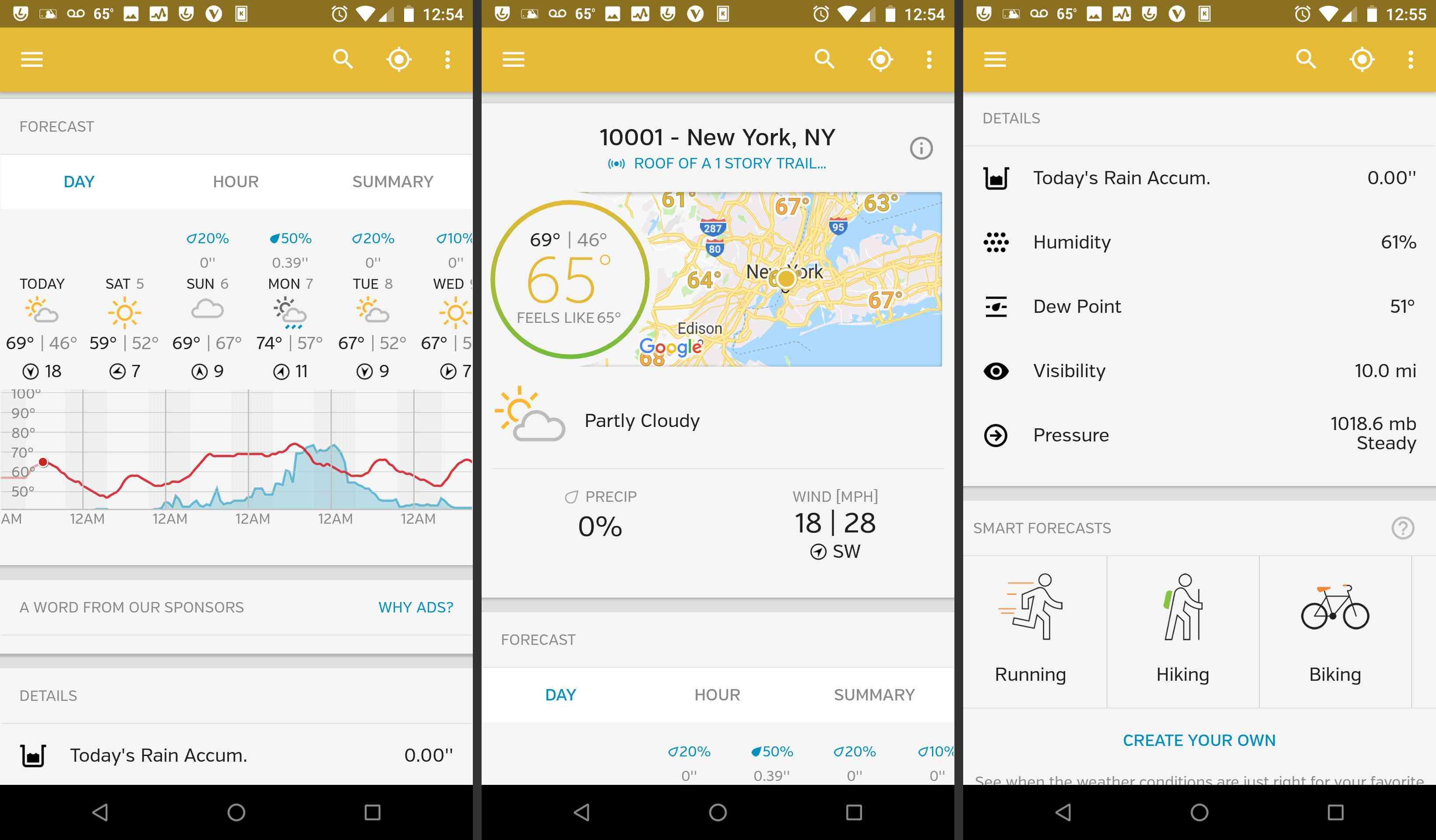 Android Weather Underground