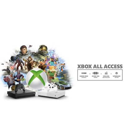 Xbox All Access promotional material.