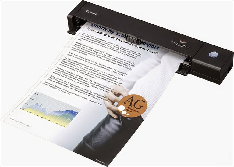 Canon imageFORMULA P-208 II Personal Document Scanner