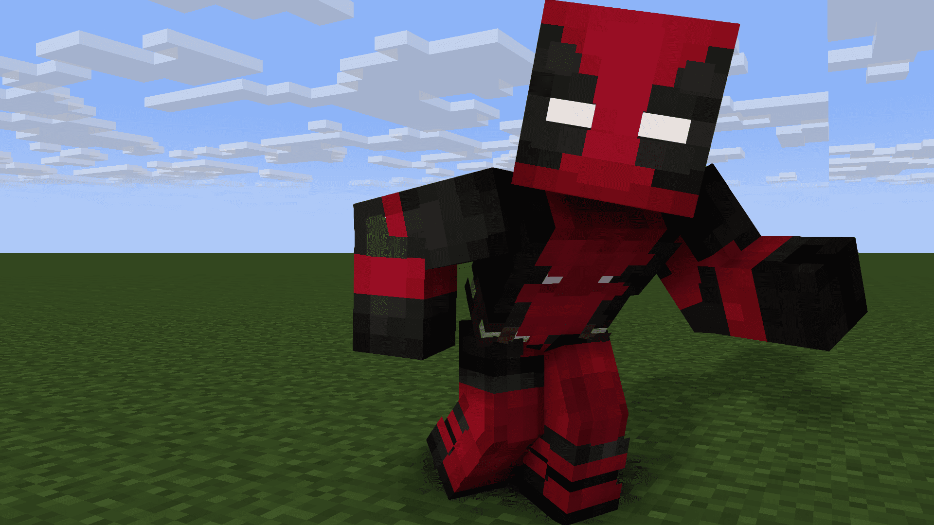 Cool Deadpool Minecraft Skins