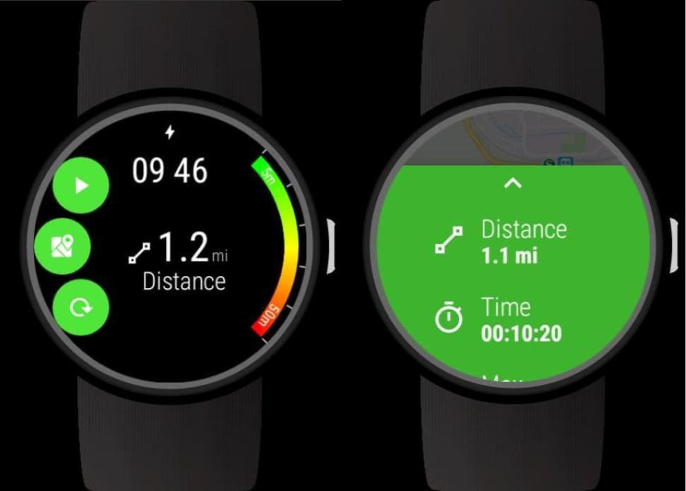 Wear OS GPS Tracker