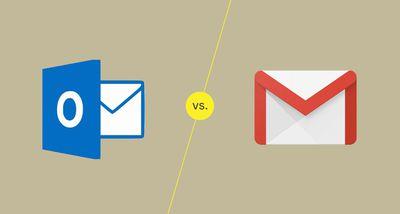 Outlook vs. Gmail