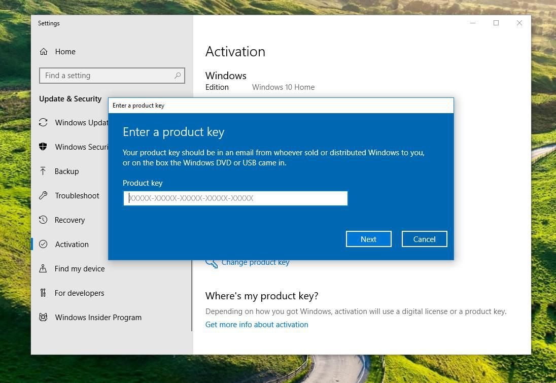 how to upgrade to windows 10 home to pro