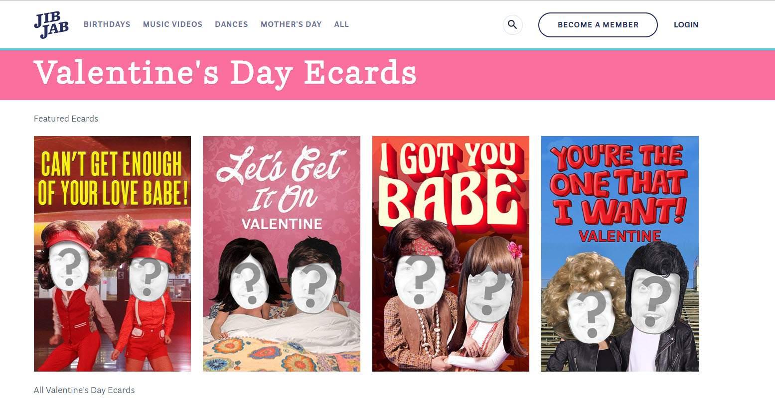 Send Valentines To Your Internet Friends