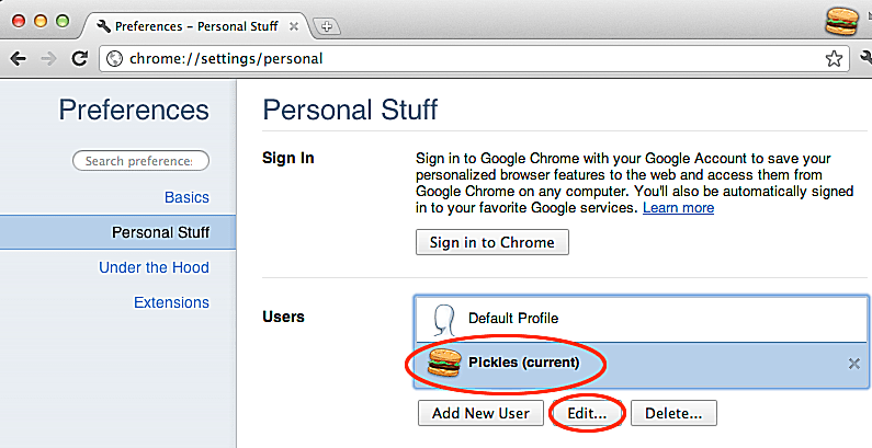 Adding Multiple Users in Chrome for OS X