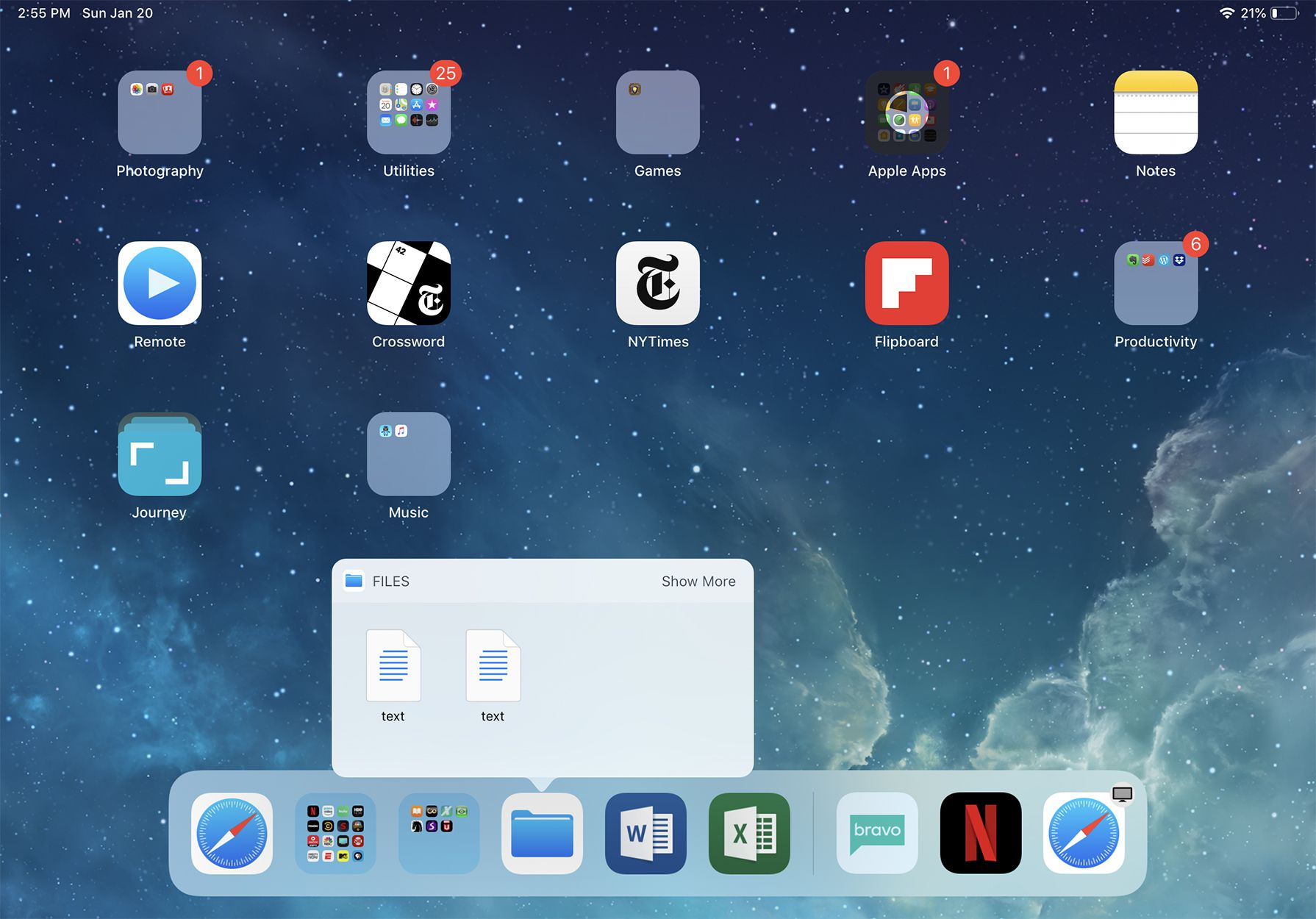 How to Use the iPad Dock In iOS 12