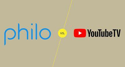 Philo TV vs YouTube TV